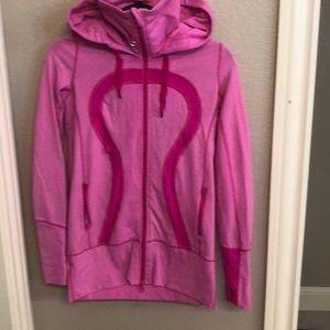 Lululemon Jacket with High Neck and Hood sz 4